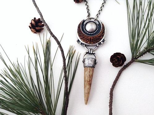 walking spirit necklace