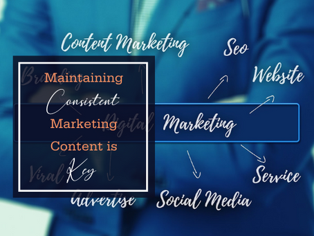 Maintaining Consistent Marketing Content is Key