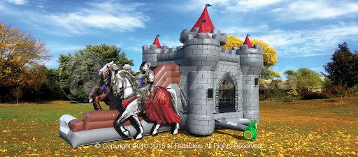 Our Knights Themed Castle is a great addition to a Birthday Party, Block Party or other Group Events. Kids love to Jump and Play and use their Imaginations!