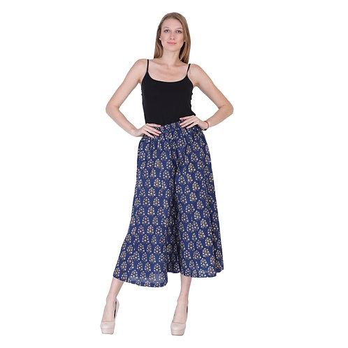 Block Print Cotton Trouser