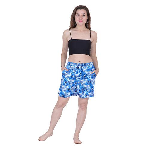 Rayon Print Shorts