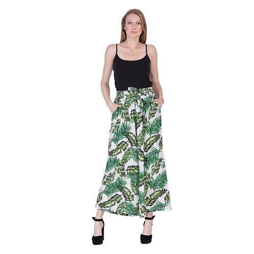 Rayon Print Trouser