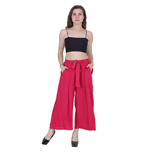 Red Color Trouser