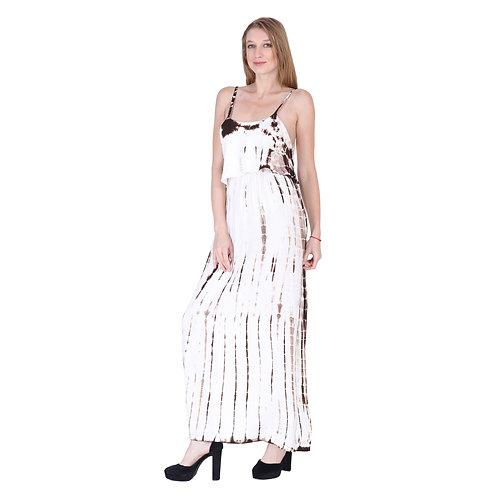 Dye Color Long Dress