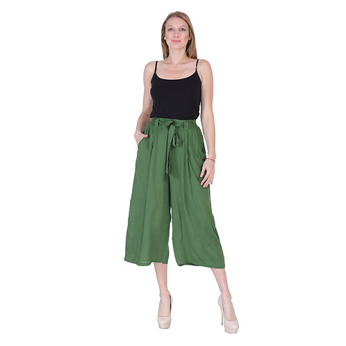 Green Color Trouser