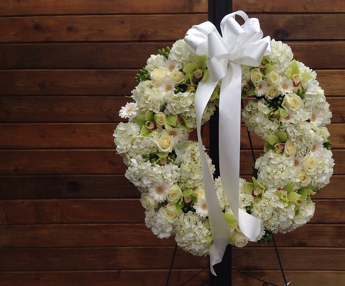Vancouver sympathy flower by downtown florist Angela & Gabriel's Flowers Inc