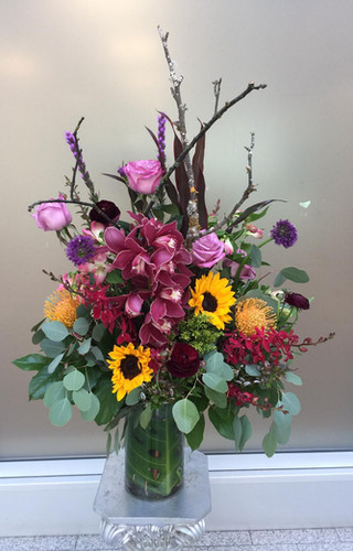 vancouver tropical flower bouquet