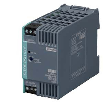 Siemens Power Supply - 6EP1332-5BA00, 24V DC (2.5A / 60W)