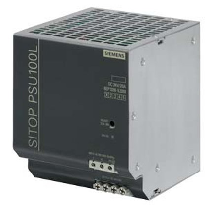 Siemens LITE Power Supply - 6EP1336-1LB00, 24V DC (20A / 480W)