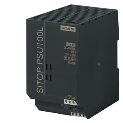 Siemens LITE Power Supply - 6EP1334-1LB00, 24V DC (10A / 240W)
