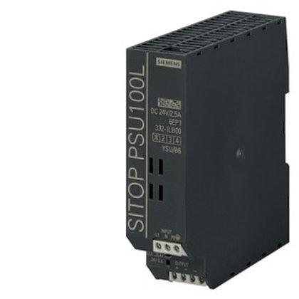 Siemens LITE Power Supply - 6EP1332-1LB00, 24V DC (2.5A / 60W)