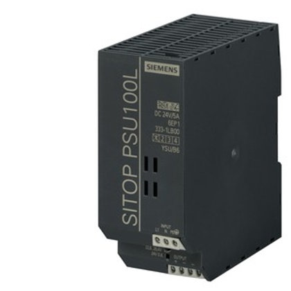 Siemens LITE Power Supply - 6EP1333-1LB00, 24V DC (5.0A / 120W)