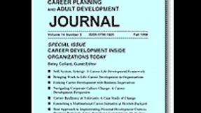 Career Planning & Adult Development Journal