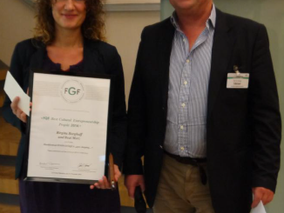 "Cultural Entrepreneurship Award 2014 für INNOVANTIQUA ""goes shopping"""