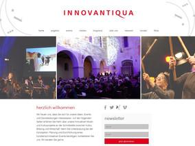 Re-Design der INNOVANTIQUA Website