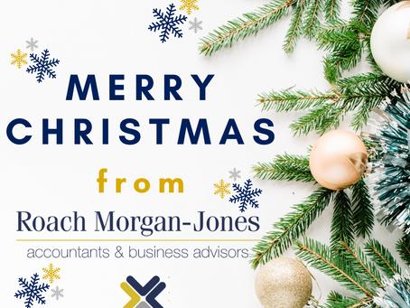 Merry Christmas from Roach Morgan-Jones