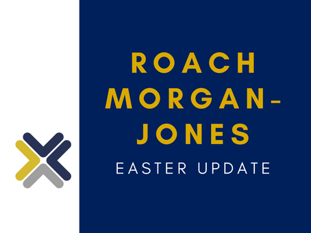 Easter Update and the 'new normal'