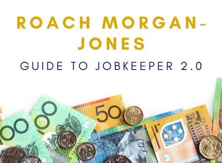 The Roach Morgan-Jones Guide to JobKeeper 2.0