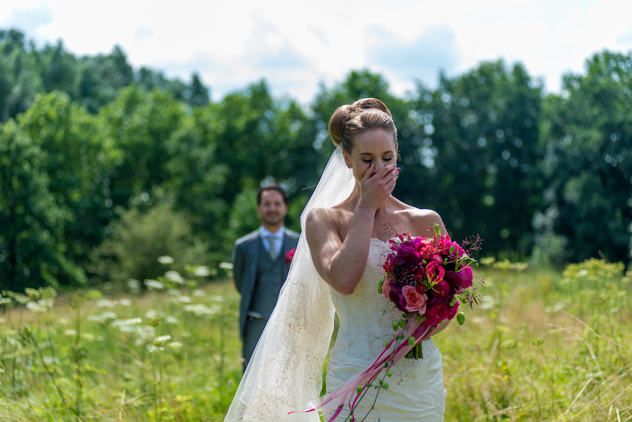 Lovely bride in the Netherlands