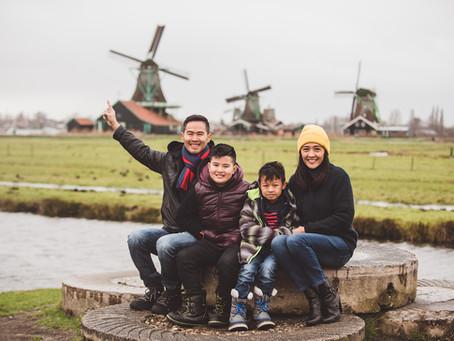 From Amsterdam to Zanse Schans