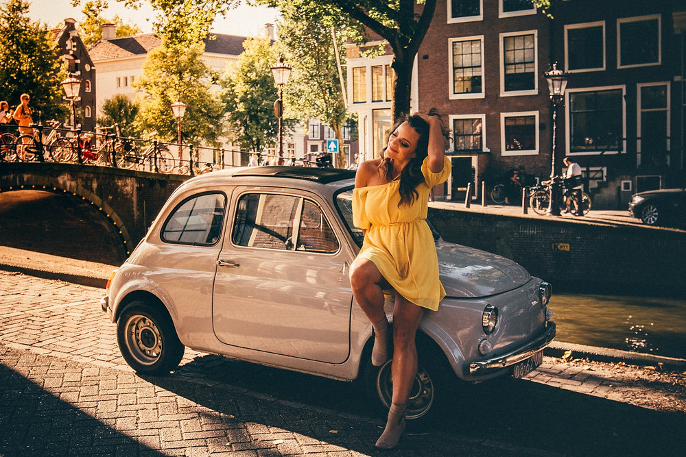 Photo shoot in Amsterdam