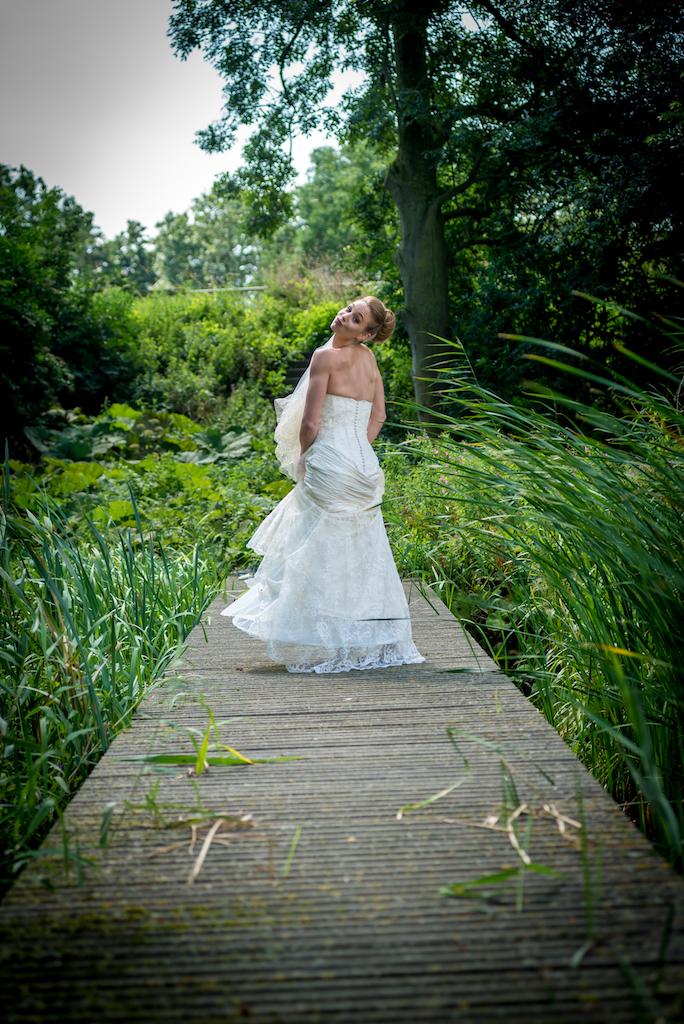 Bride in Holland