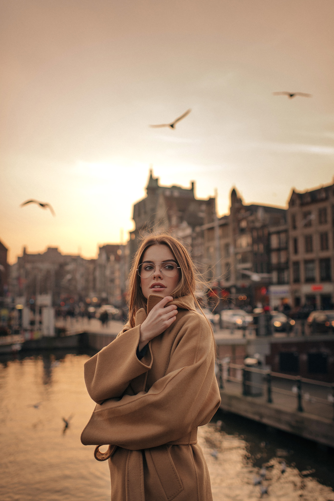 Blogger in Amsterdam