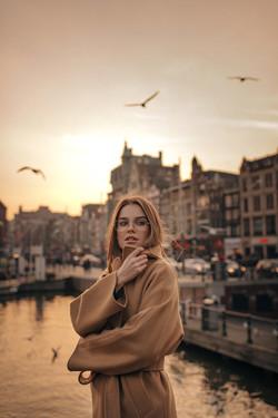 Blogger in Amsterdam