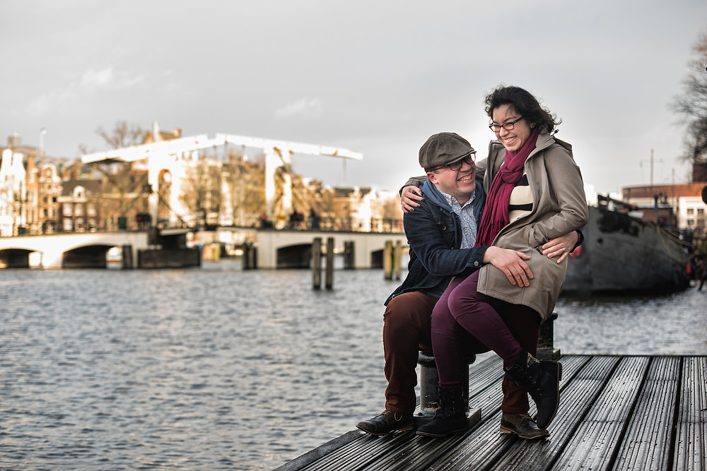 Lovely couple photos in Amsterdam
