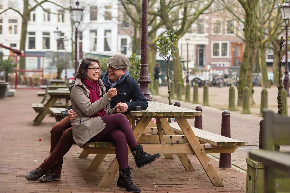 Love couple photoshoot in Amsterdam