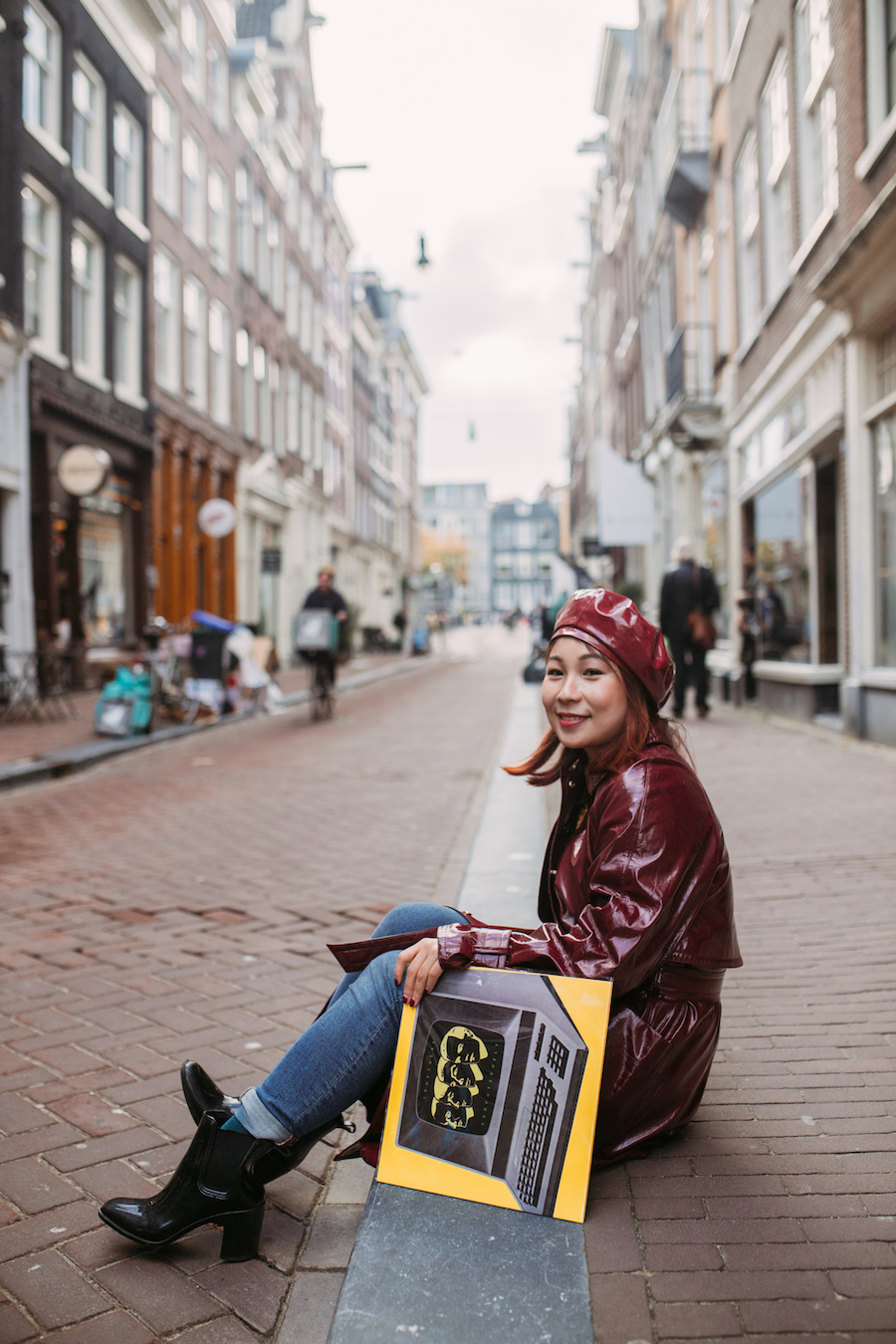 Girl in Amsterdam