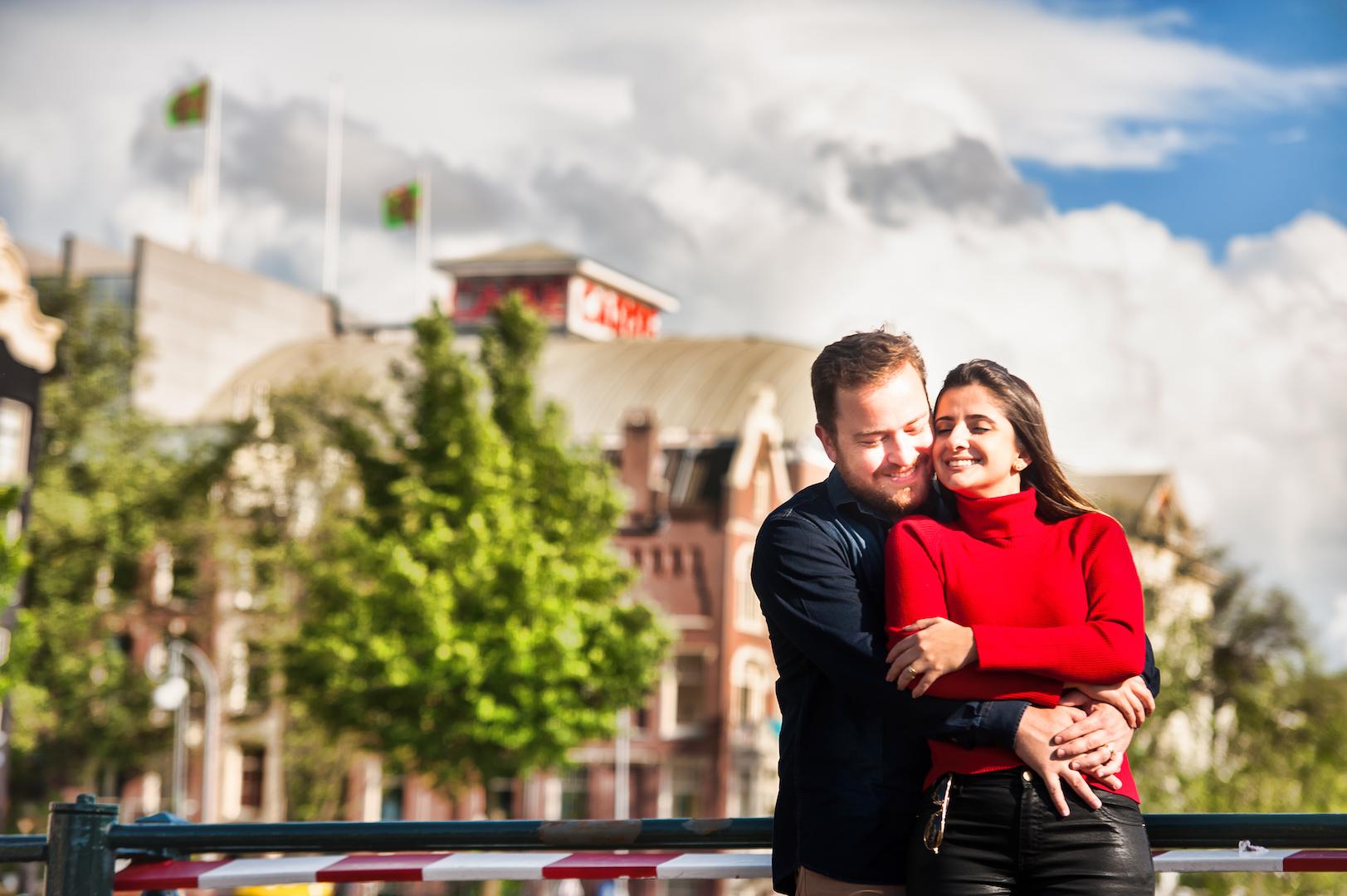 Love photos in Amsterdam