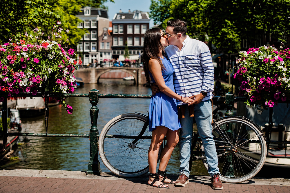 Couple photoshoot in Amsterdam