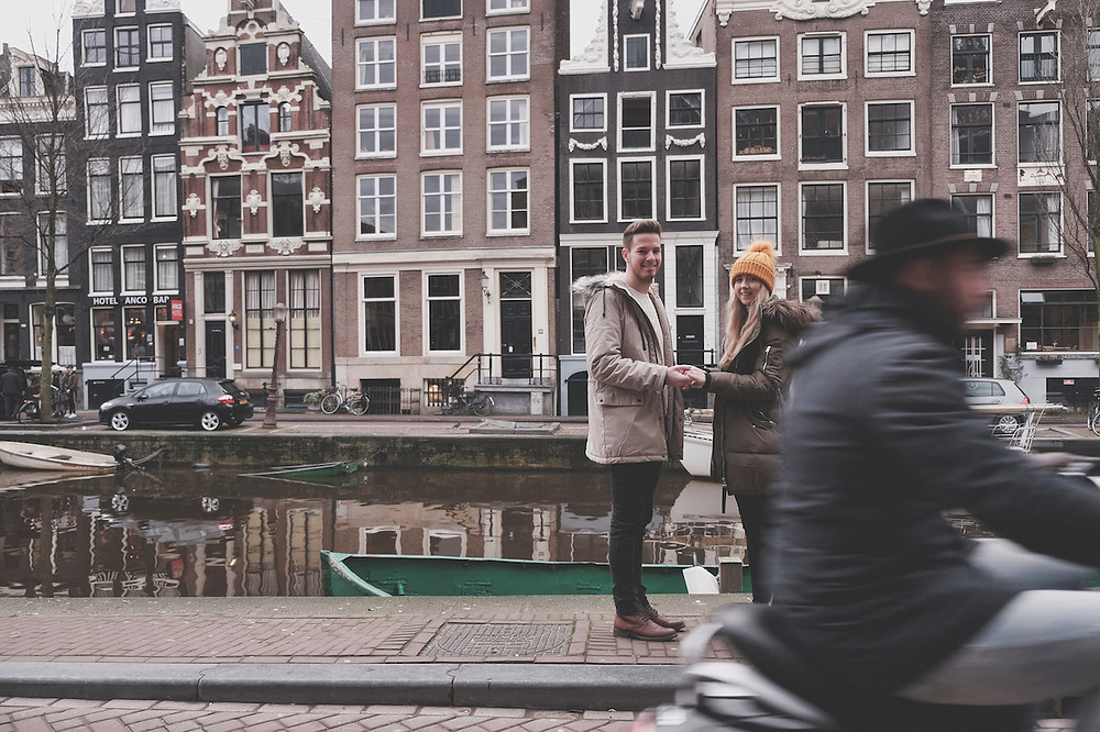 Proposal in Amsterdam