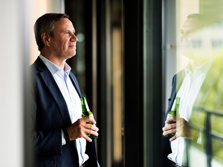 Heineken's CHRO meets our photographer