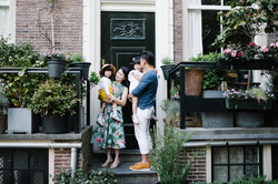 Family photoshoot in Amsterdam