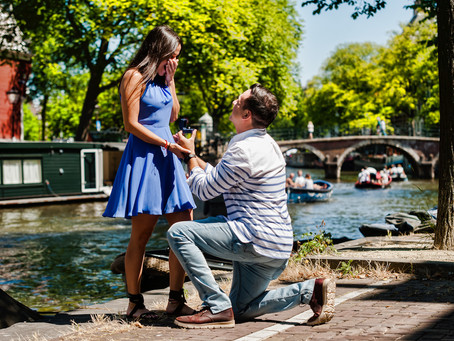 How to arrange your surprise proposal in Amsterdam