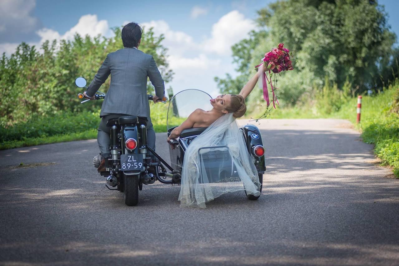 Fun wedding in the Netherlands