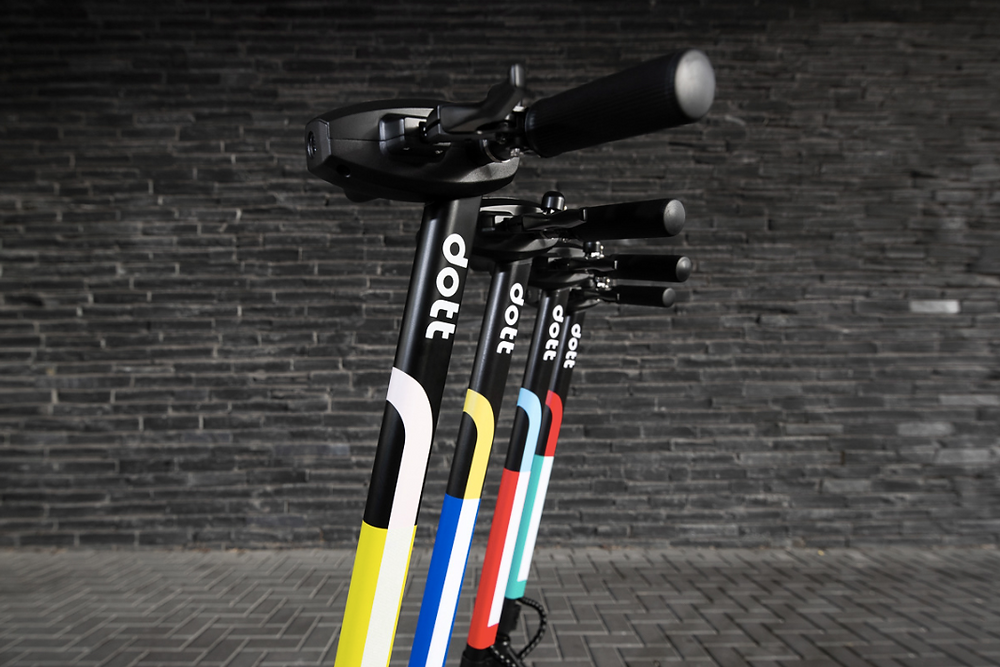 Product photoshoot for scooters