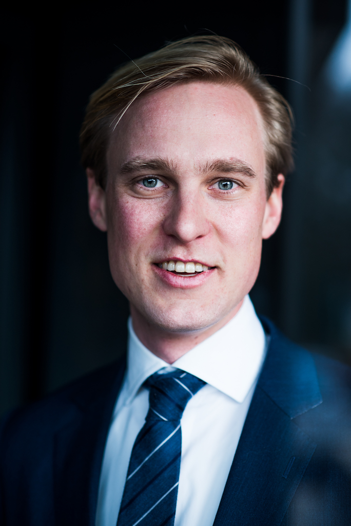 Corporate portraits in Amsterdam