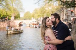 Secret proposal photos in Amsterdam