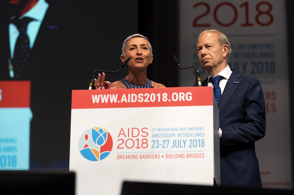 Speakers at AIDS 2018