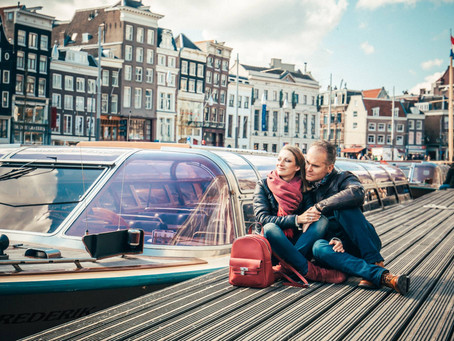Love and the city - Love photo shoot in Amsterdam.