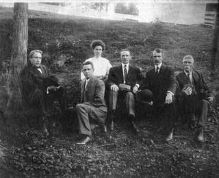 The King Family: E.W., H.P., L.C., Anson