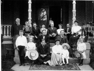 Major A.D. Reynolds and Family