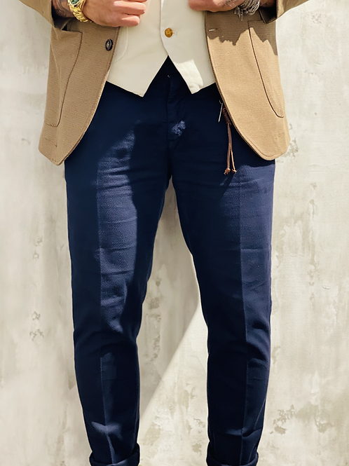 Pantalone classico blue