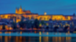 reflection-of-illuminated-lights-of-prag