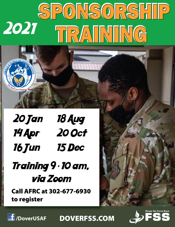 Sponsorship Training 2021