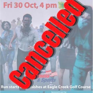 Zombie Fun Run is Cancelled