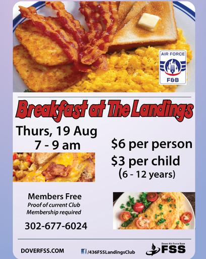 Breakfast at The Landings